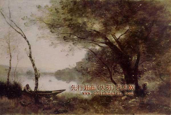 欧洲古典油画风景画 油画风景画技法 视频 油画教程 艺术高清图片